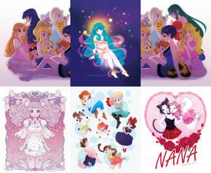 Print preorders Nana Miwako Smash bros Lum