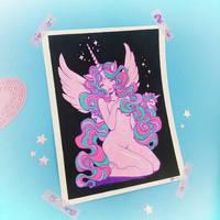 Unicorn Posca piece