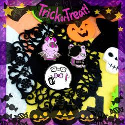Spooky pins