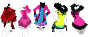 Dress Designs by zambicandy