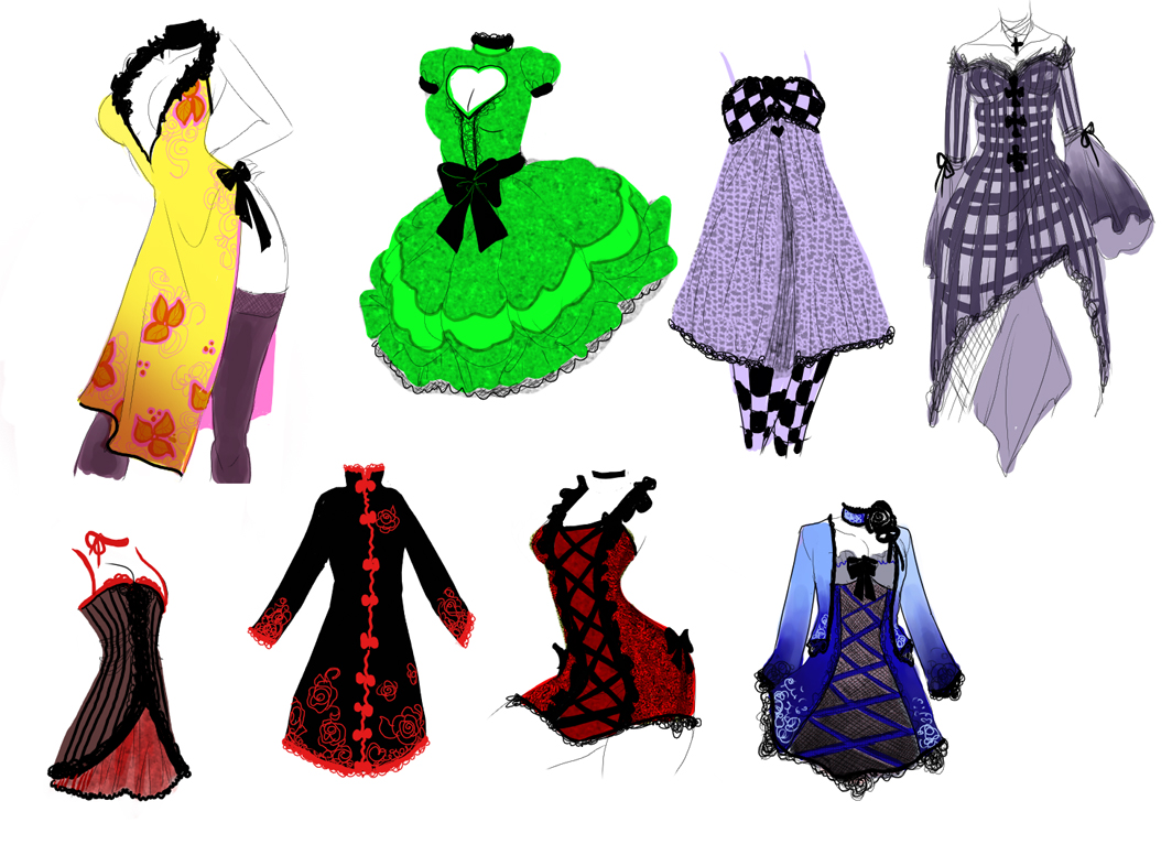 4c9b88f36 More Dress Designs By Zambicandy On DeviantArt