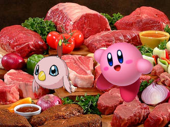 Kirby and Poromon - The Bottomless Eaters by Jamesdean1987