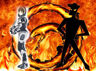 Yuko Tani VS Father - Fury of the Fire Snake by Jamesdean1987