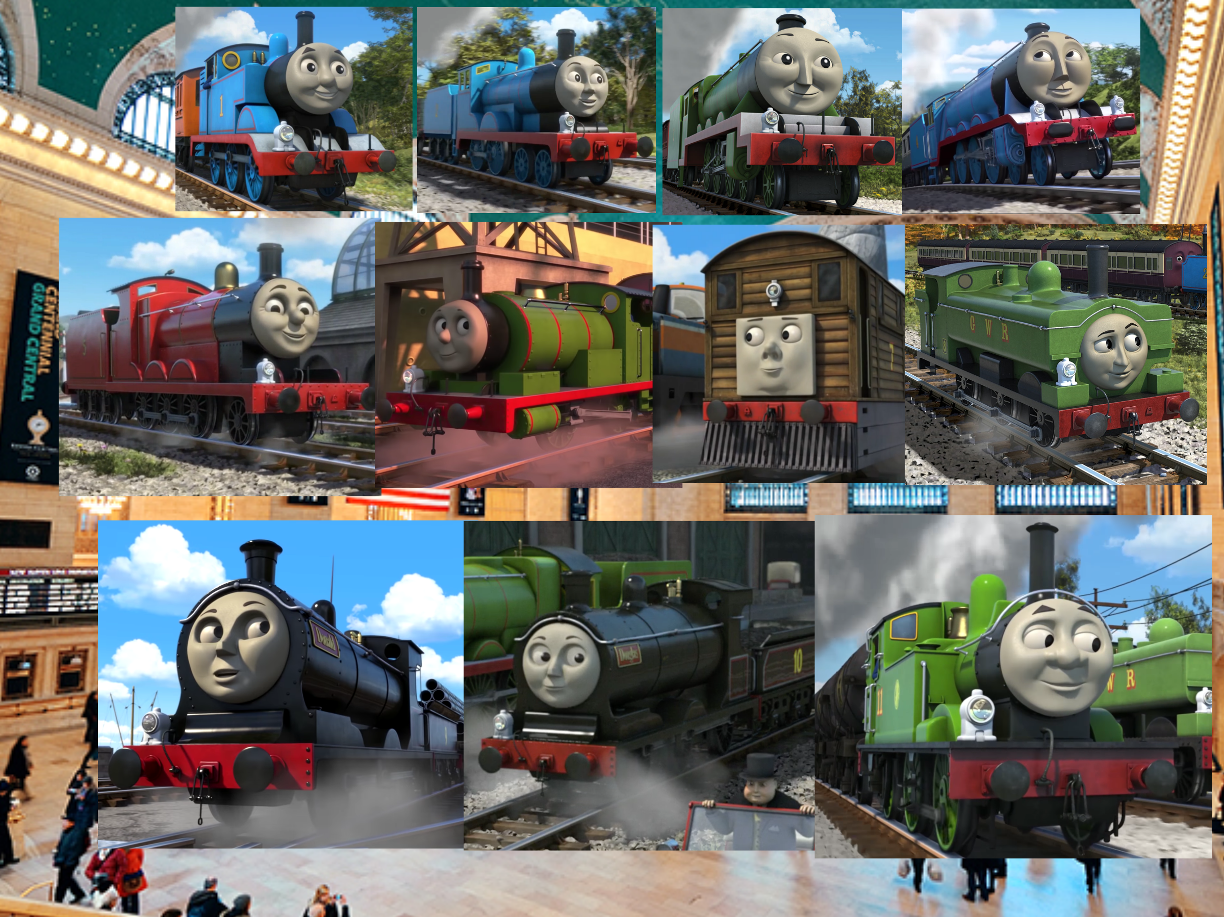The Thomas And Friends Wallpaper Cgi By Jamesdean1987 On Deviantart