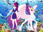 Queen Novo - Mermaid and Hippogriff of Friendship