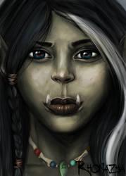 Rhonya Portrait by Rhonazha
