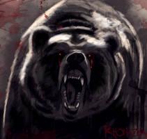 Dark bear
