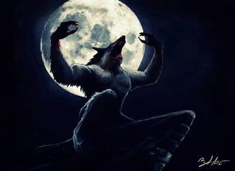 Werewolf by MightyGodOfThunder