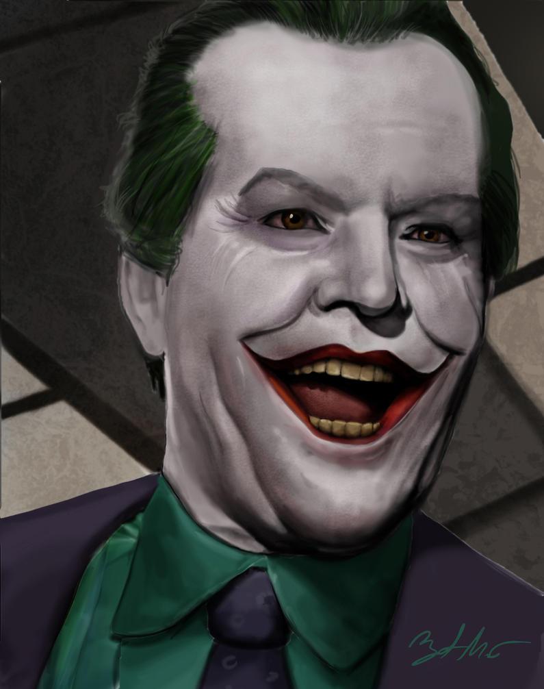 Joker (Jack Nicholson) by MightyGodOfThunder