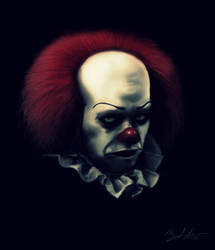 Pennywise by MightyGodOfThunder