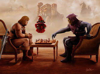 Battle for Eternia by MightyGodOfThunder