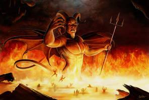 Lucifer by MightyGodOfThunder