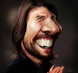 Tom Cruise caricature by MightyGodOfThunder