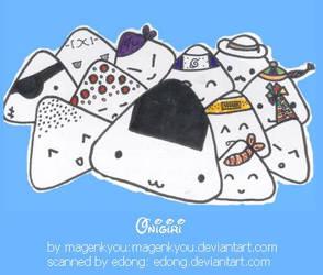 Onigiri by magenkyou