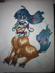 Monster Girl 30 Day Challenge Day 2: Centaur