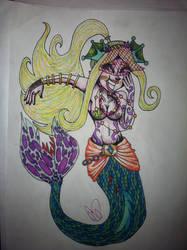 Monster Girl 30 Day Challenge Day 4: Mermaid