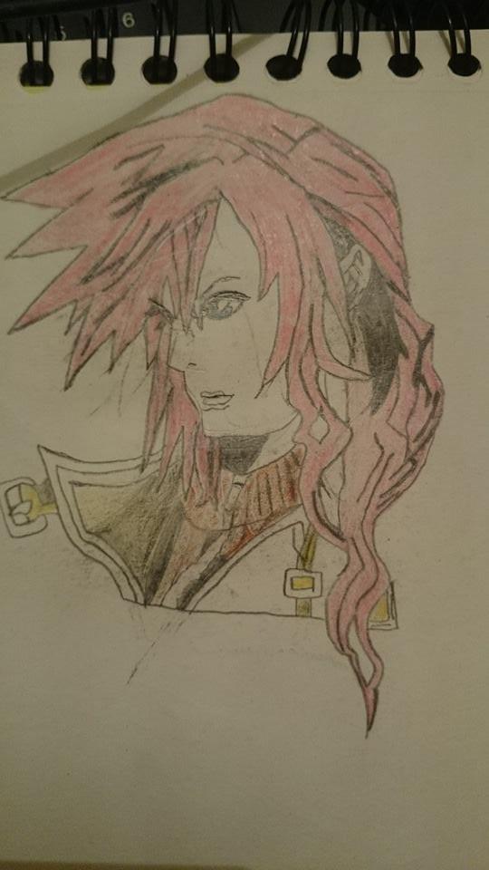 Lightning Final Fantasy XIII by Rain-Farron-78