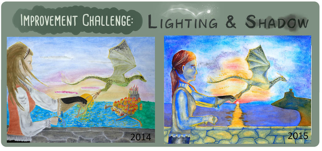 Lighting challenge by DancesWithDreams