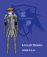 Maplewing's Live2D Model by sinmaplewing