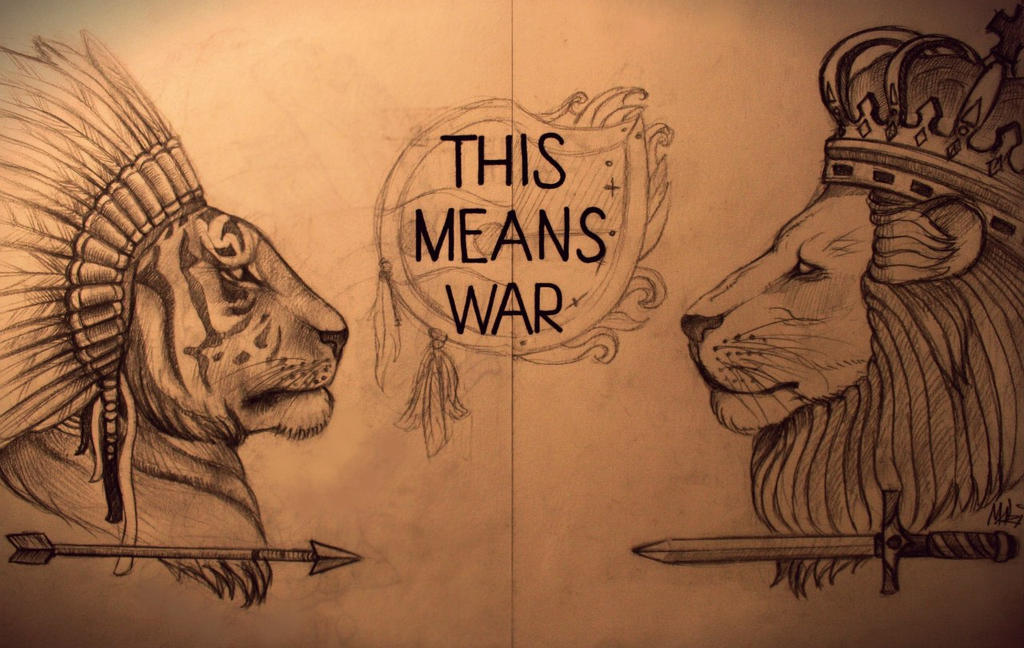 This Means War Tattoo by MaryMaryLP