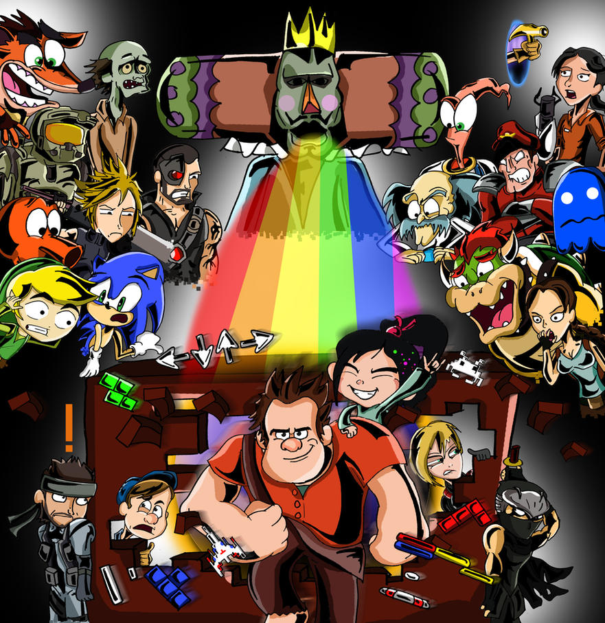 Wreck-It Ralph- You're Game Jumping? by xeternalflamebryx ...
