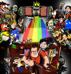 Wreck-It Ralph- You're Game Jumping? by xeternalflamebryx