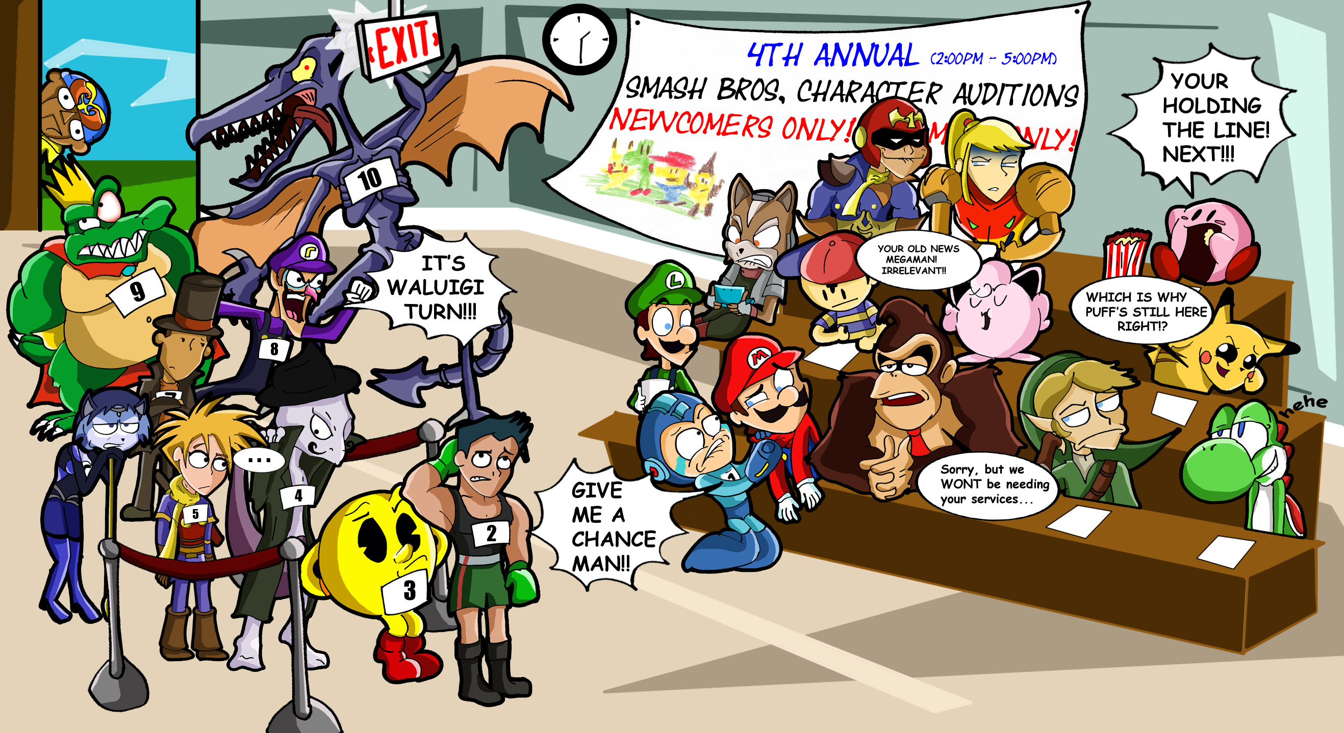 Super Smash Bros  / Hilarious In Hindsight - TV Tropes
