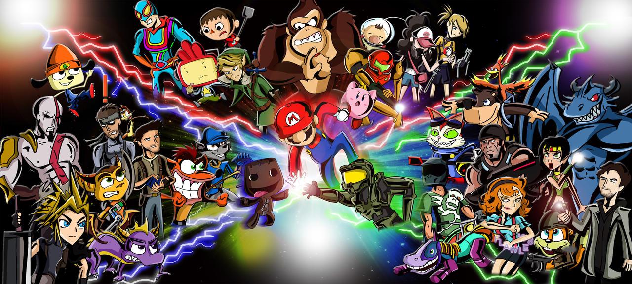 Nintendo vs PlayStation vs Xbox by xeternalflamebryx on DeviantArt