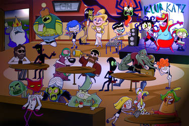 Cartoon Network Villains: Klub Katz by xeternalflamebryx