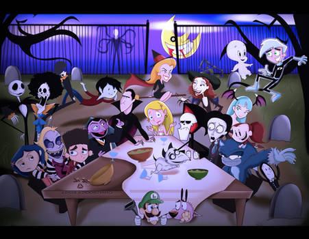 Just Another Halloween by xeternalflamebryx