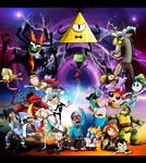 Nickelodeon, Cartoon Network, Disney, Hub Unite!