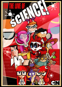 Cartoon Network- For the Love of Science! by xeternalflamebryx