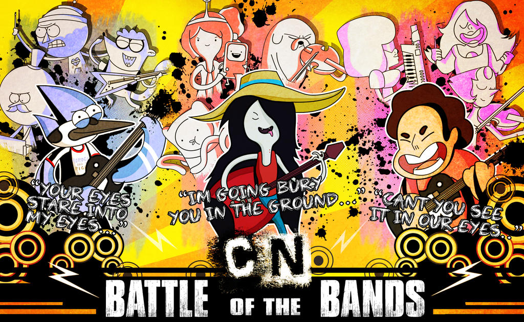 Cartoon Network- Battle of the Bands by xeternalflamebryx ...
