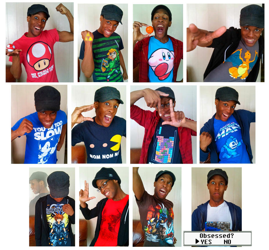 Gaming Shirts Obsession ft Me (xeternalflamebryx) by xeternalflamebryx