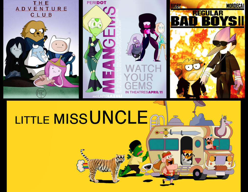 Cartoon Network at the Movie Parodies by xeternalflamebryx