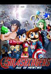 Smash Bros as the Avengers by xeternalflamebryx
