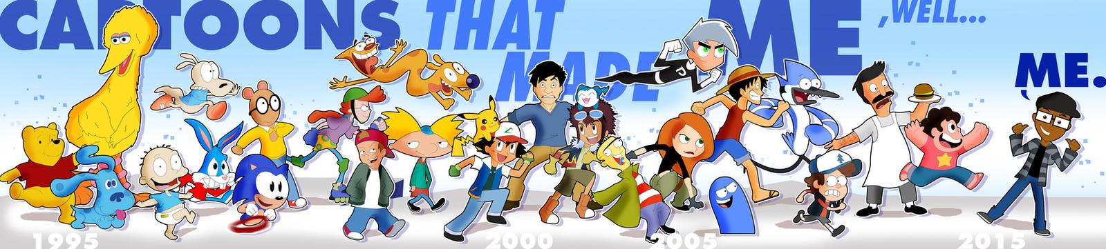 Cartoons That Made Me, Me!