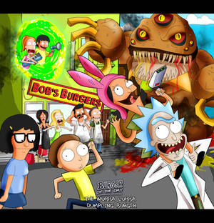 If Rick and Morty Met Bob Burgers
