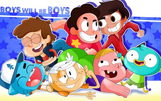 Boys Will Be Boys!