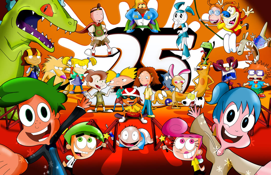 Nickelodeon 25th Anniversary by xeternalflamebryx on ...