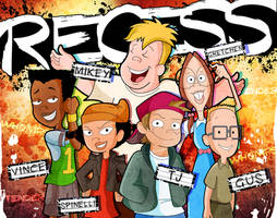 20 years of Recess by xeternalflamebryx