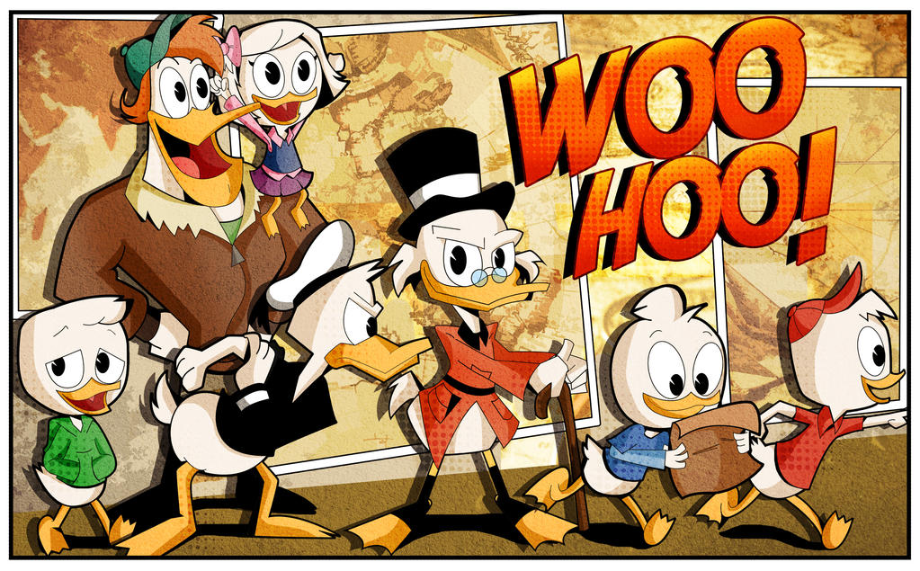 Ducktales 2017 by xeternalflamebryx