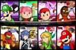 Nintendo as Pokemon Gym Leaders