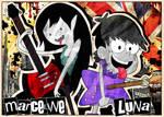 Marceline and Luna