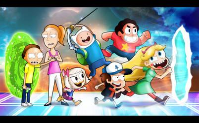 Cartoon Portal Mission