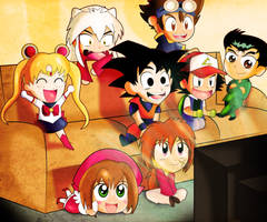 Lets Watch Some Anime After School