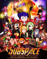 Super Smash Bros as Infinity War by xeternalflamebryx