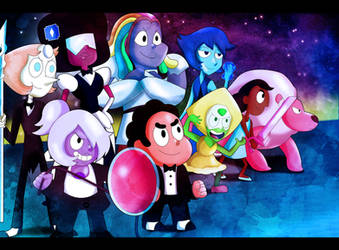Steven Universe- We are the Crystal Gems by xeternalflamebryx