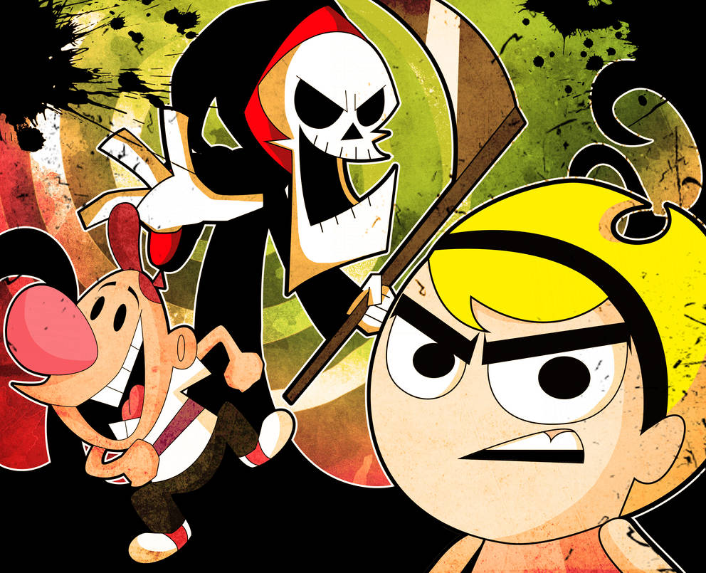 The Grim Adventures Of Billy And Mandy By Xeternalflamebryx On