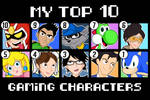 My Top 10 Gaming Characters